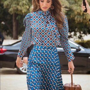 Brand New Zara Pleated Skirt
